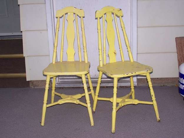 1930s kitchen chairs