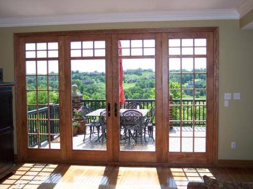 8 foot french doors exterior