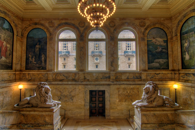 Boston Public Library Interior