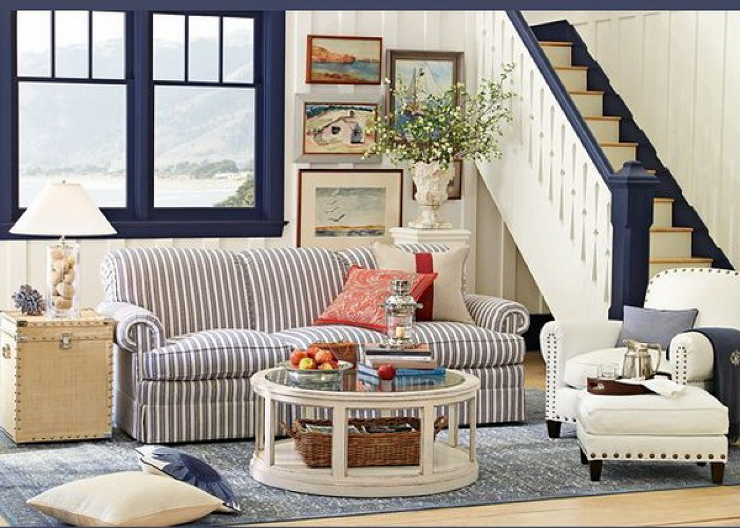 Countrystyle Living Room Design
