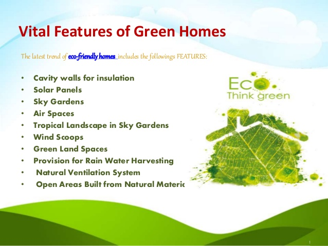 Eco House Features