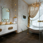 Gold Bathroom Idea