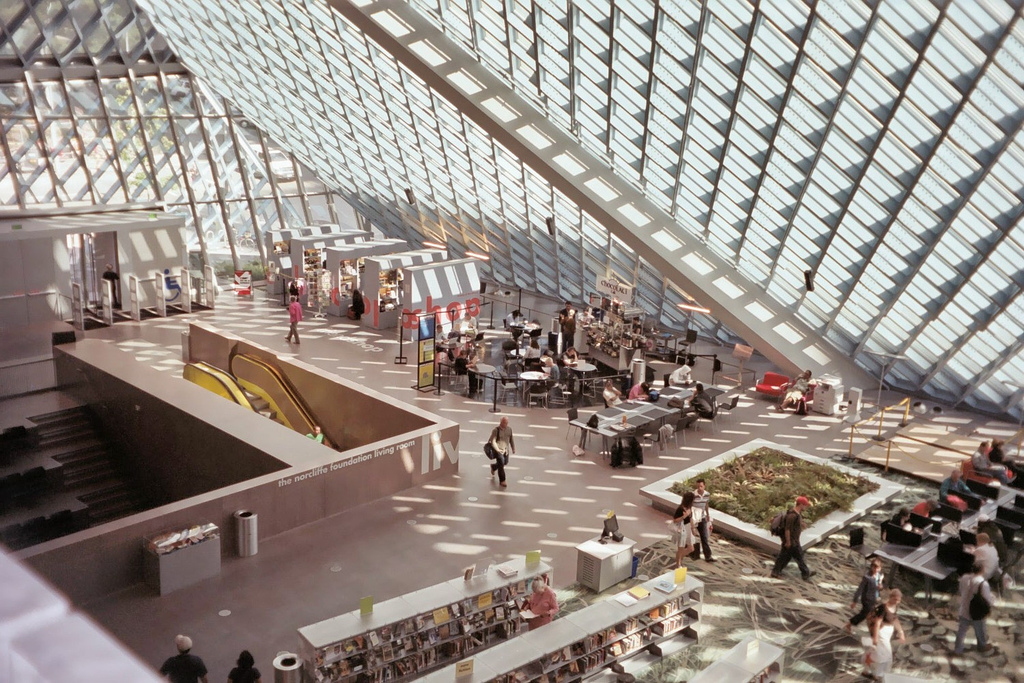 SeattleLibrary Interior