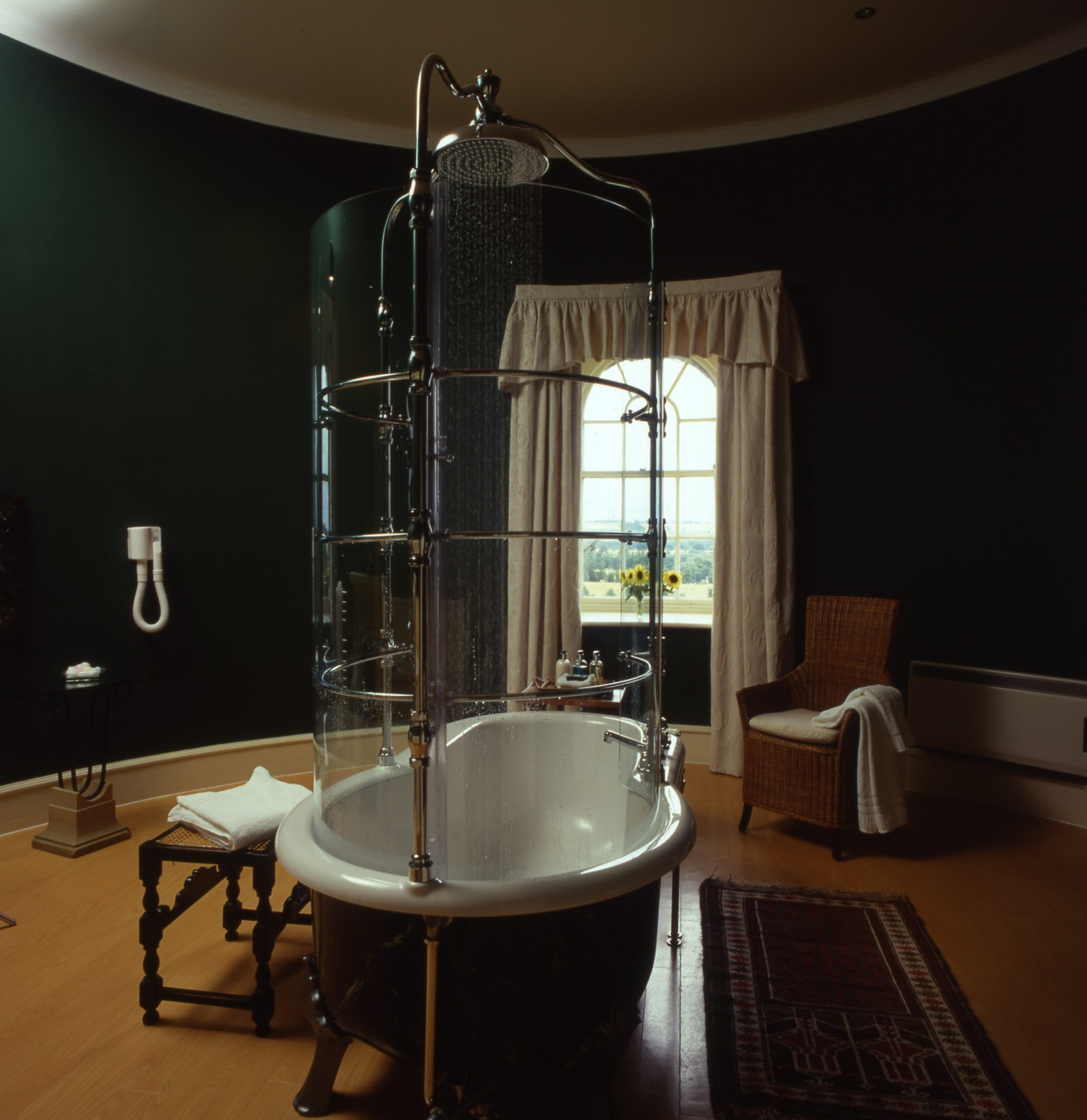 Swinton Park Turret Bathroom