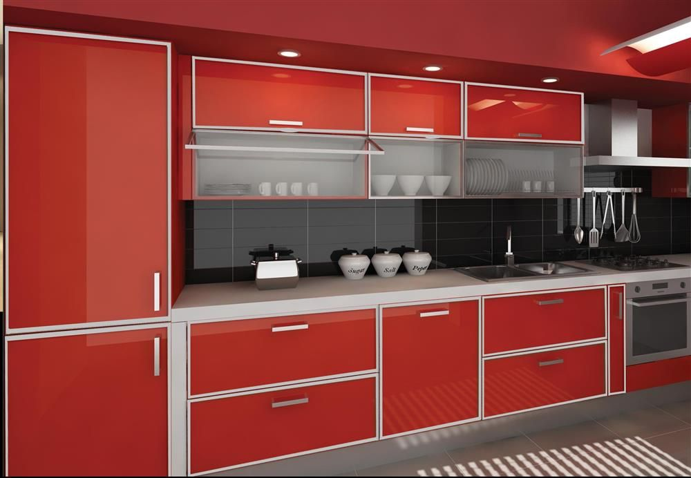 Aluminium cupboard designs
