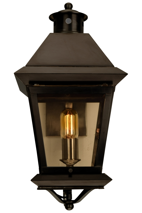 Antique outdoor wall lighting