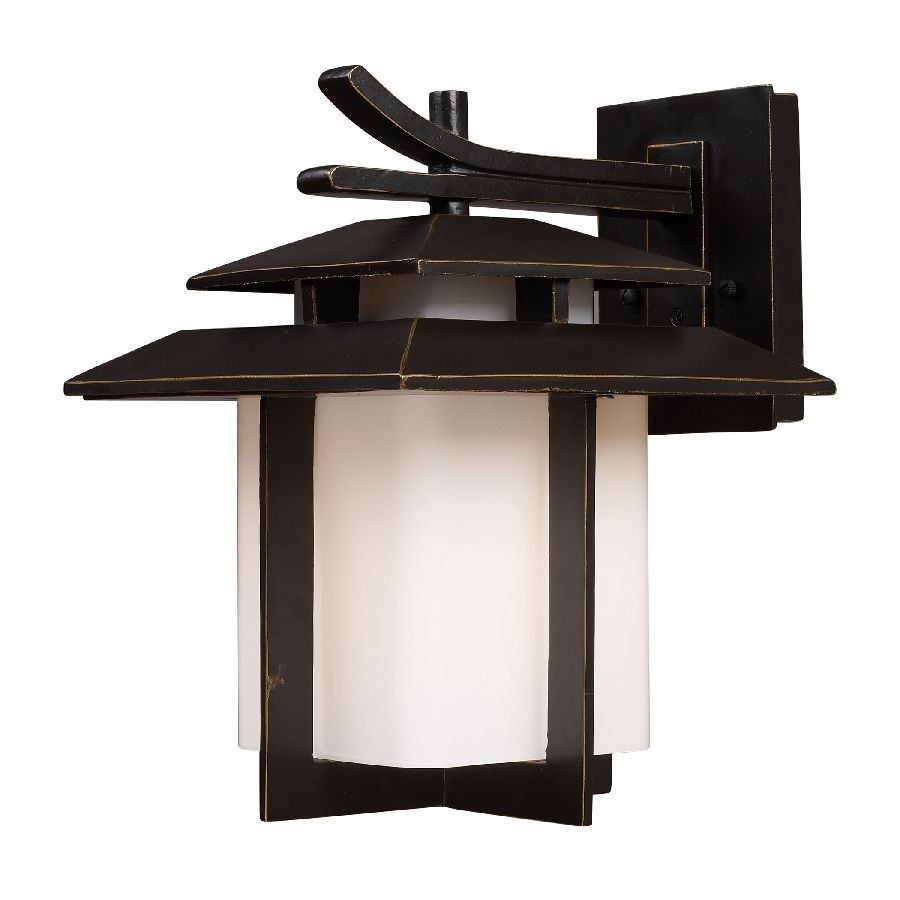 Asian outdoor wall lighting