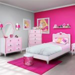 Barbie bedroom furniture for girls
