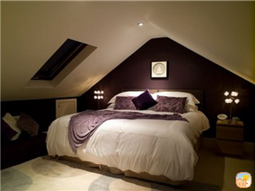 Bedroom attic design ideas