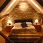 Bedroom attic designs