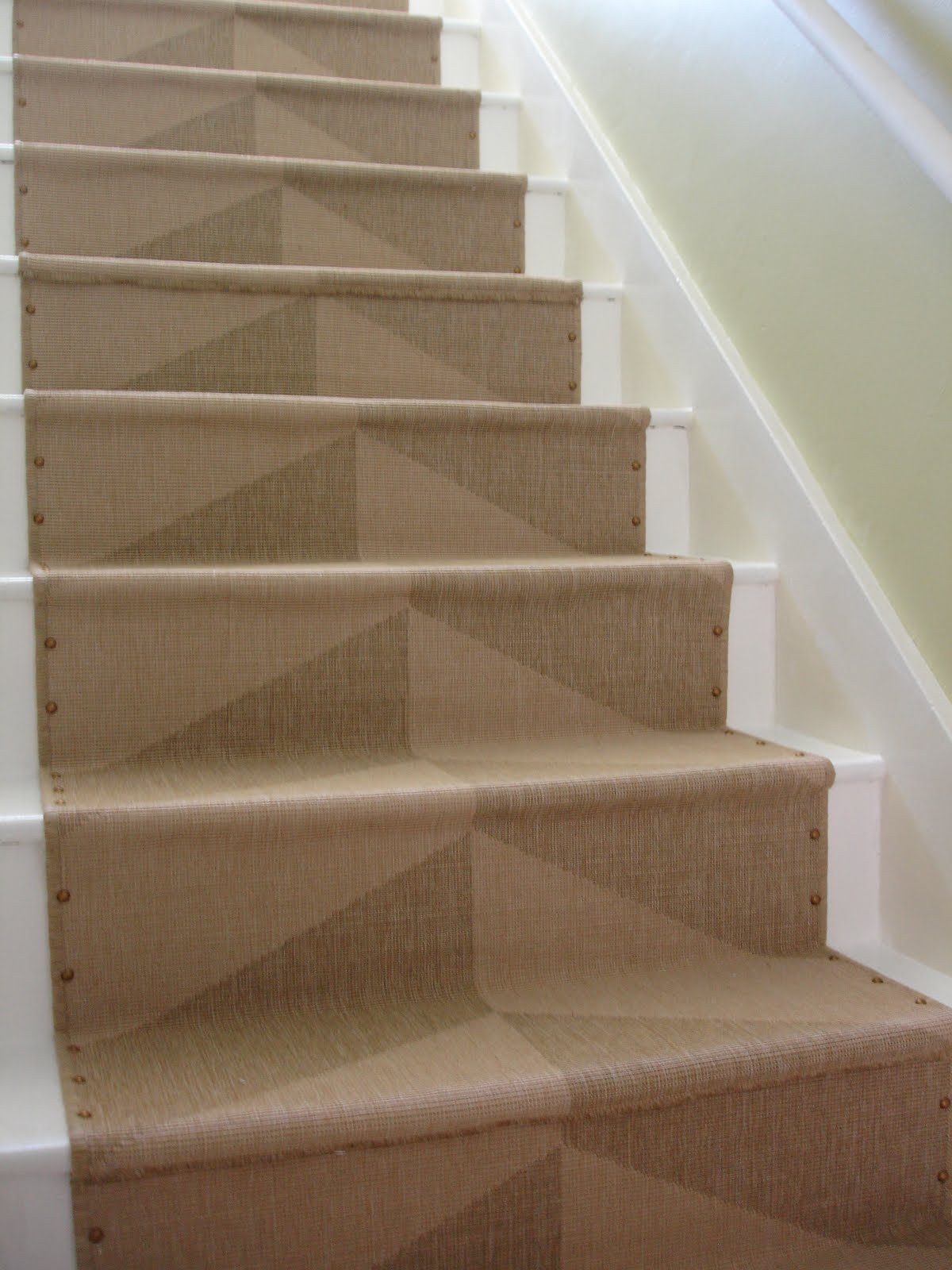 Berber carpet runner for stairs