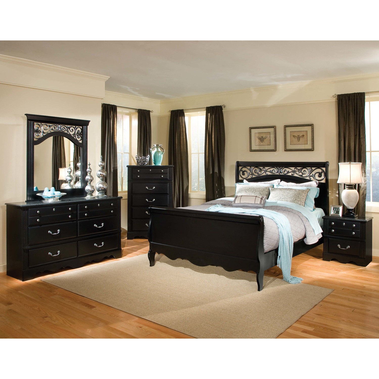 Black bedroom furniture belfast