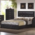 Black california king bedroom furniture sets