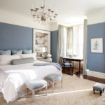 Blue grey bedroom decorating ideas