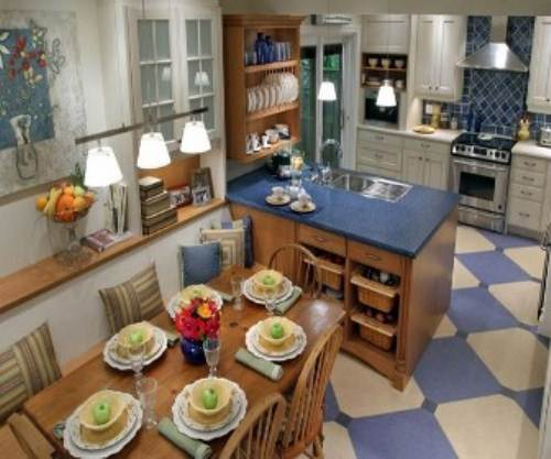 Candice olson kitchen for her mom