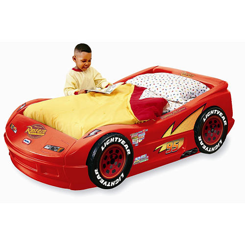 Cars toddler bed wood