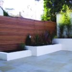 Contemporary garden fencing ideas