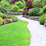 Contemporary garden paving ideas