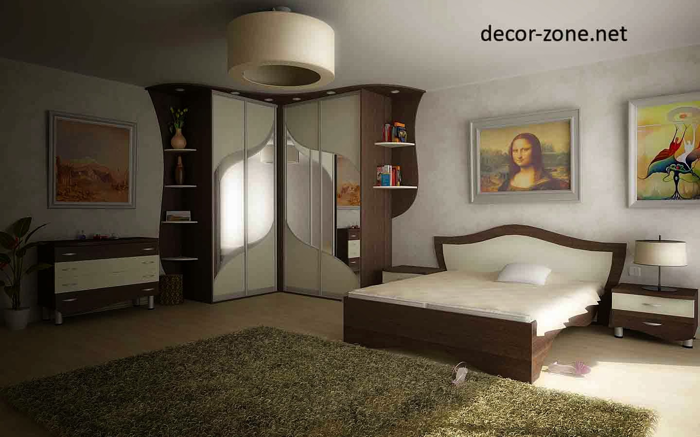 Corner bedroom furniture ideas