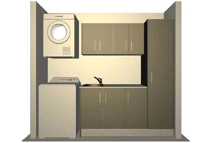 Cupboard laundry designs