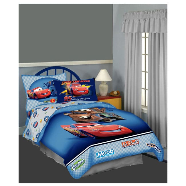 Disney cars toddler bed in a bag