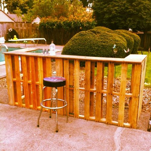 Diy outdoor bar designs