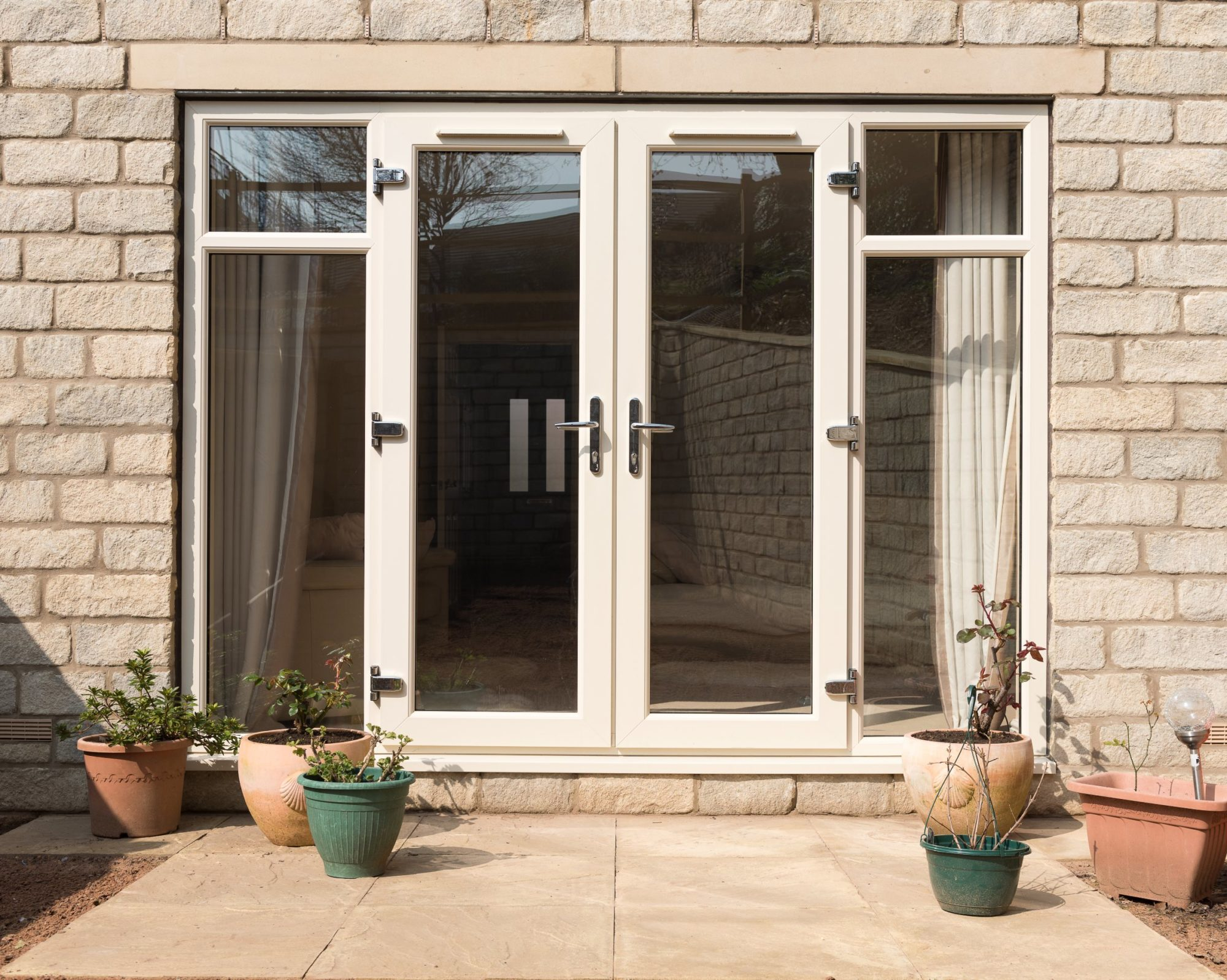 Double french door cost