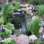 Easy small garden pond