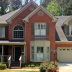 Exterior paint colors red brick