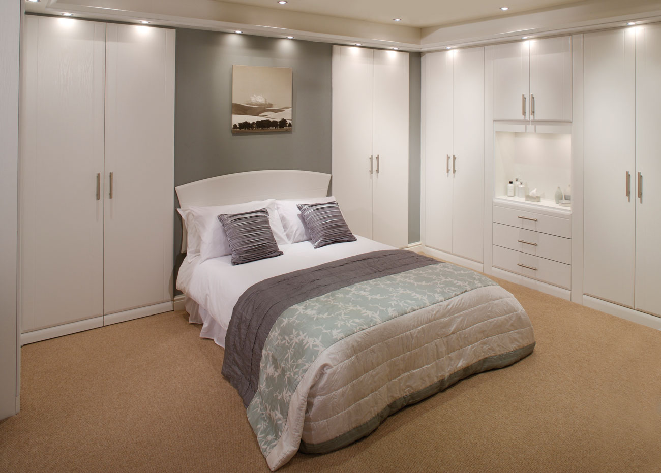 Fitted bedroom furniture designs