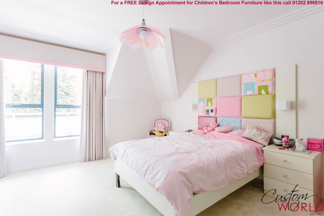 Fitted bedroom furniture for kids