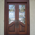 French country double entry doors