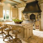 French country kitchen home