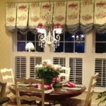 French country kitchen window treatments