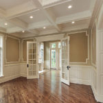 French doors interior design
