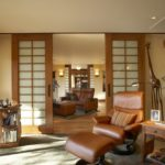 French doors interior double