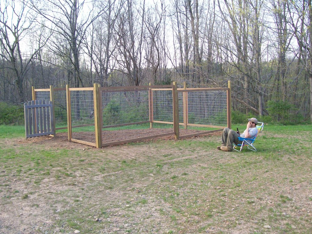 Garden deer fencing ideas
