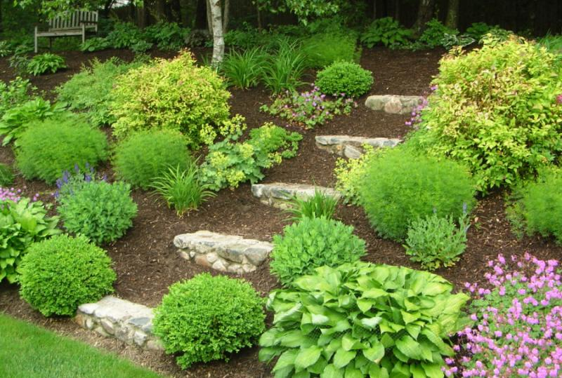 Garden design ideas hill