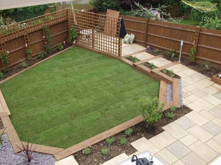 Garden design ideas sleepers