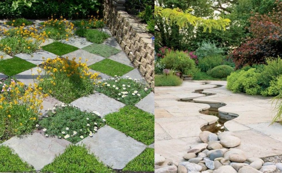 Garden design ideas with stones