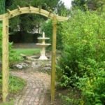Garden entrance design ideas