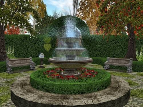 Garden fountain ideas free