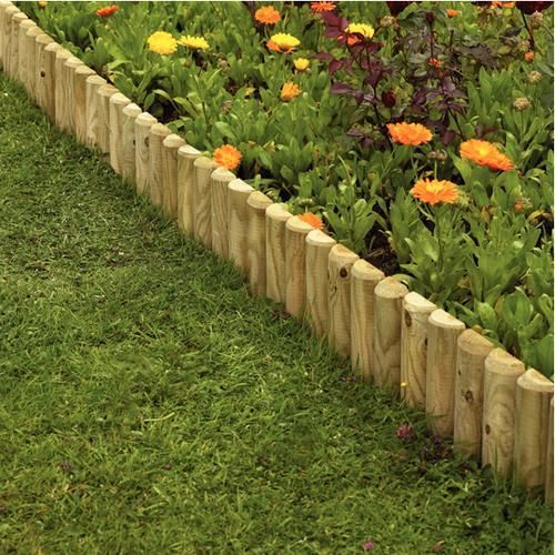 Garden ideas fence borders