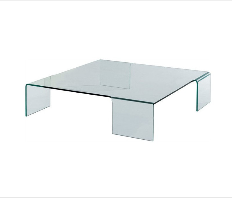 Glass coffee table design classic