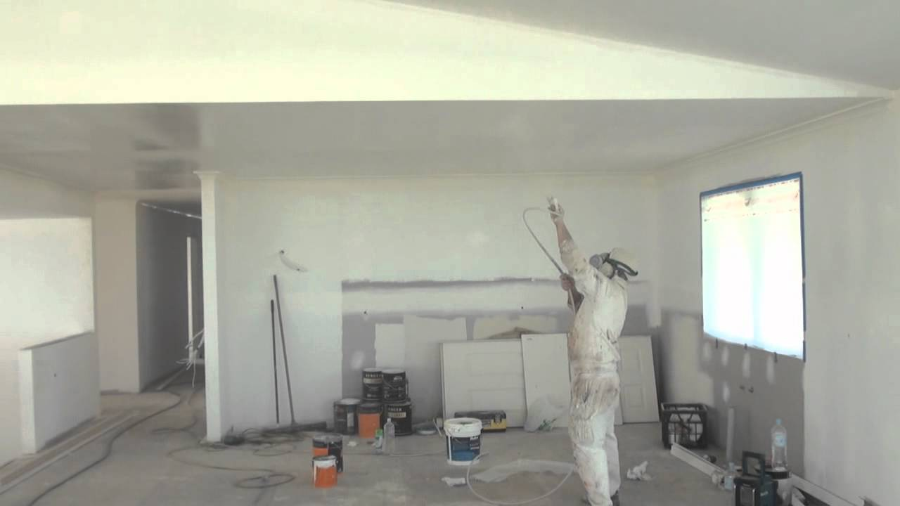 Interior home paint gun