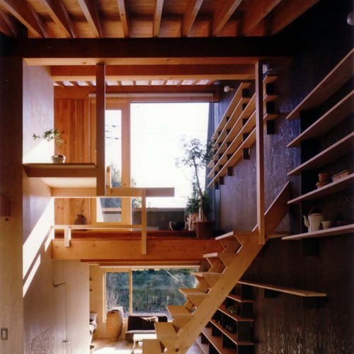Japanese small house interior design