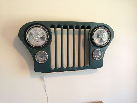 Jeep bedroom lamp
