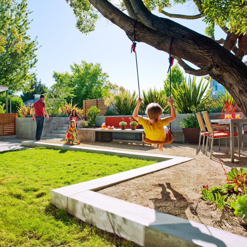 Kid friendly garden design ideas
