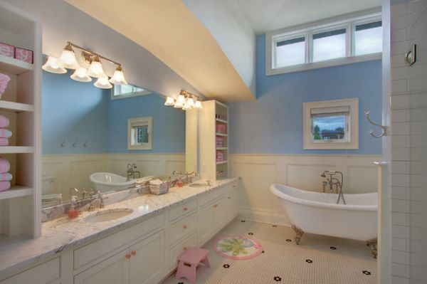 Kids bathroom ideas for girls