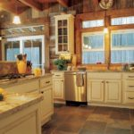 Kitchen cabinet ideas for log homes